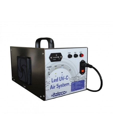 LED UV-C AIR SYSTEM - Purificatore d'aria a led UV-C