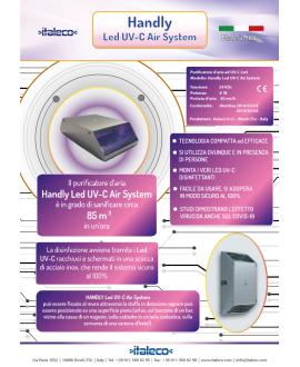Handly LED UV-C Air System - Purificatore d'aria a led UV-C